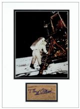 Buzz Aldrin Autograph Signed Display - Apollo 11